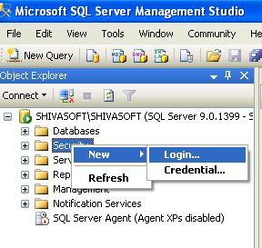 SQL Server Security folder