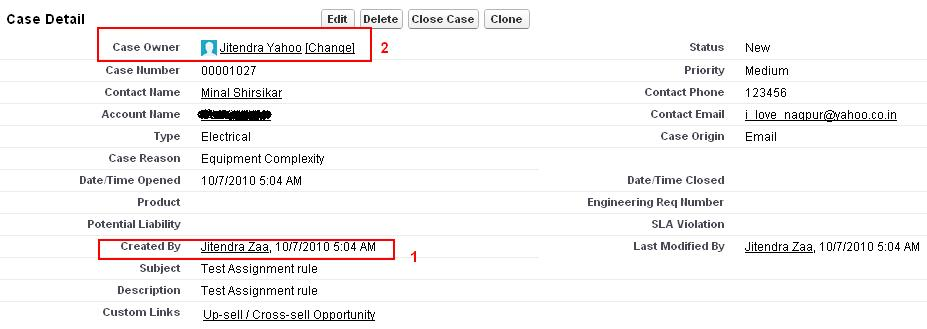 Assignment rule of salesforce in action