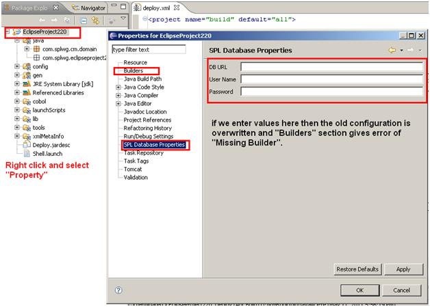 Reason of Missing Builder error in CC&B (ORMB)