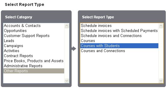 Report of custom object with related object in Salesforce