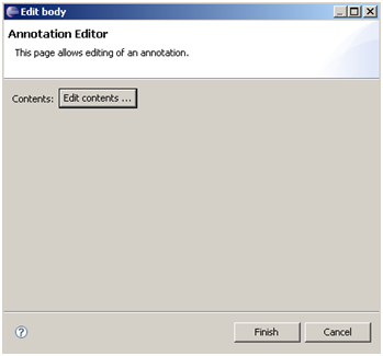 Annotation Editor - Edit Content in Eclipse of ORMB / CC&B / Oracle Utilities