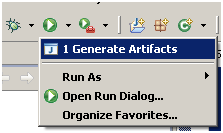 Artifcat generator in Eclipse for CC&B / ORMB / Oracle Utilities