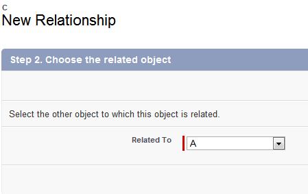 Salesforce Master-Detail relationship - select Master object