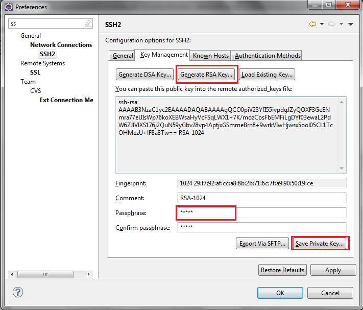 Configure Push for SSH Authentication in Git