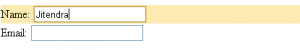 Selecting field using jquery