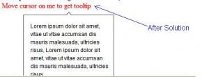 Telerik Tooltip, Rad Tooltip solution