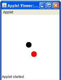 Bouncing Ball Animation In Applet Jitendra Zaa S Blog