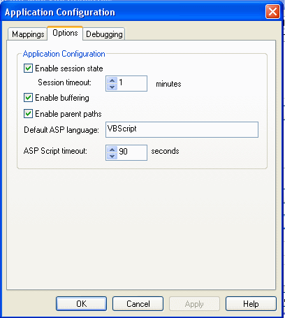 Set Session Timeout in IIS (Internet Information Services