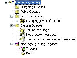 MSMQ Admin panel