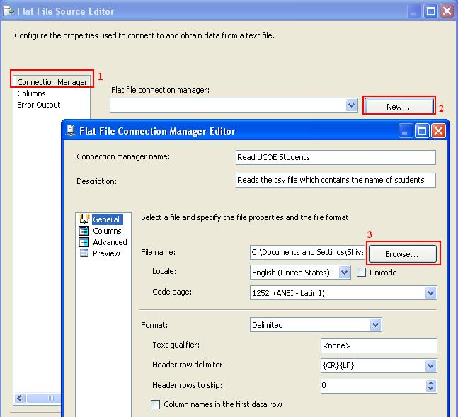 Create Simple ETL Project in SSIS – Filter Records
