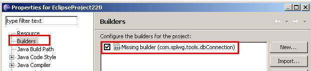 Missing Builder error in CC&B (ORMB)