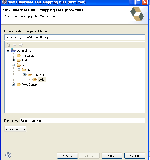 New Hibernate XML Mapping files (hbm.xml)