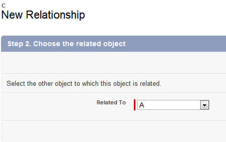 Salesforce Master-Detail relationship - select Master object